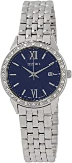 Seiko Womens Quartz Watch, Analog Display and Stainless Steel Strap SUR691P1