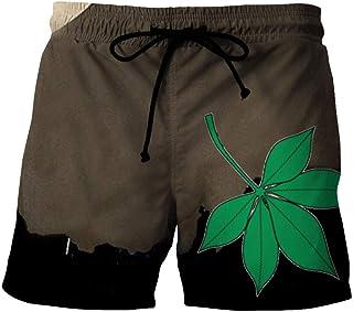 Men'S Hiking Shorts Quick-Drying Beach Shorts 3D Printed Casual
