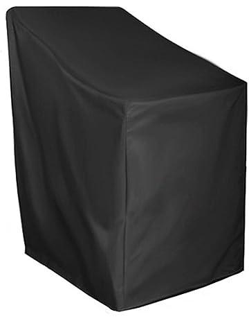 Protezione per Mobili Fodera per Sedia Reclinabile Pieghevole per Esterni Fodera per Sedie Resistente alla Polvere E Resistente Ai Raggi UV 110x71cm ONEVER Fodera per Sedia Impilabile da Giardino