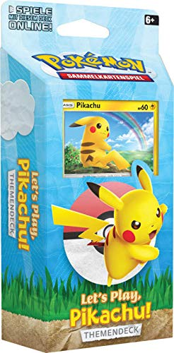 Lively Moments Pokemon Karten Let´s Play - Pikachu Themendeck DE Deutsch Sammelkarten Spielkarten