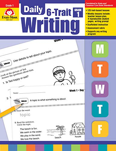 Evan-Moor Daily 6-Trait Writing, Grade 1 (Daily Practice Books)