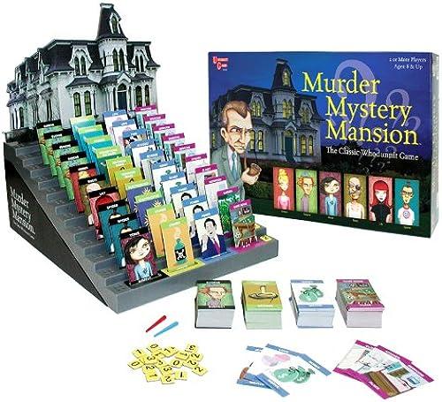 más orden University Games Murder Mystery Mansion - Juego Juego Juego de mesa (en inglés)  excelentes precios