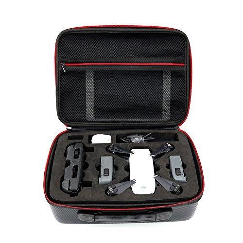 Rantow Custodia impermeabile portatile porta caso per DJI Spark Drone Custodia protettiva portafoglio Borsa portafoglio borsa