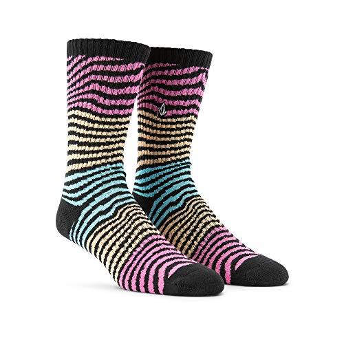 Volcom Herren Vibes Socken, Rose, Einheitsgröße (6er Pack)