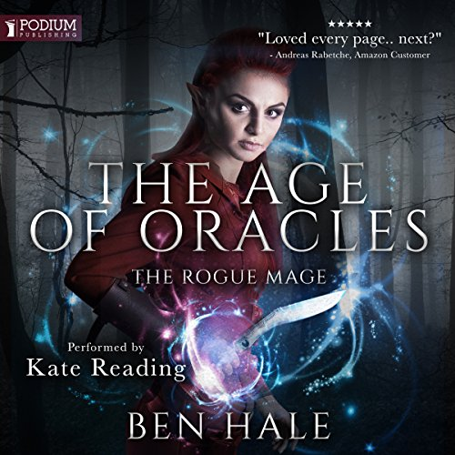The Rogue Mage audiobook cover art