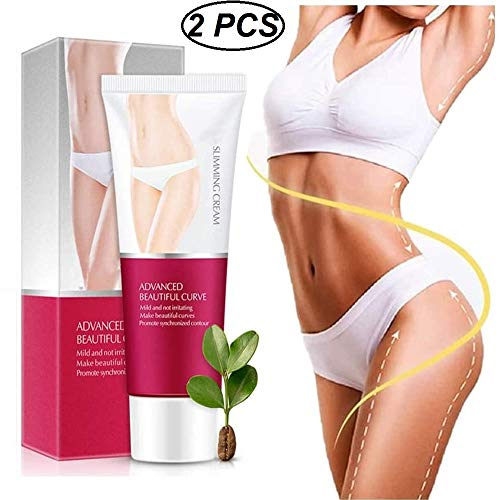 loudi Koffeinverbrennungscreme, Massagegerät zur Fettverbrennung, Anti-Cellulite-Creme, Body Slimming Gel zur Straffung Ihrer Haut und zur perfekten Formung von Taille, Bauch...