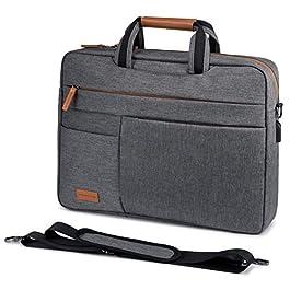 LOVEVOOK Sacoche Ordinateur Portable 17.3 Pouces Imperméable Mallette Sac pc Tablette Ordinateur Cartable Sac à…