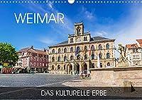 Weimar - das kulturelle Erbe (Wandkalender 2022 DIN A3 quer): Wandeln Sie auf den Spuren von Schiller und Goethe in der charmanten Kulturstadt Weimar (Monatskalender, 14 Seiten )