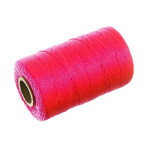 Paracord Planet Twisted Nylon Twine – Neon Pink – 550 Feet