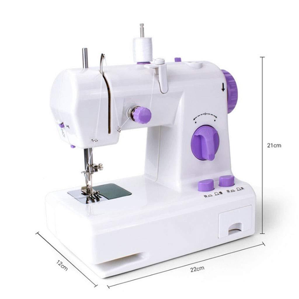 AILI Máquinas de Coser Pequeñas máquinas de Coser Mini máquina de ...