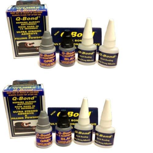 2 x Pakketten Q binding QB2 Ultra Sterke Lijm Reparatie Kit