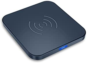 Rophie Wireless Charger for Apple iPhone 8,iPhone 8 Plus,iPhone X, Samsung Galaxy S8/S7/S8 Plus/S6,Note 8 Qi Certified Wireless Charging Pad with Anti-Slip Rubber
