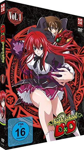 Highschool DxD - Staffel 1 - Vol.1 - [DVD]