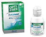 Opti-Free Puremoist Multi-Purpose Disinfecting Solution with Lens Case, 2-Ounces (Packaging may…