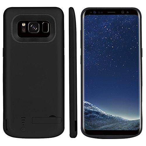 """PK Expresstech @ Funda Carcasa Batería Recargable Alta Capacidad 5000mAh Batería integrada Cargador Externa Carcasa Protectora para Samsung Galaxy S9 s9 SM-G960 G9605,8"""""""