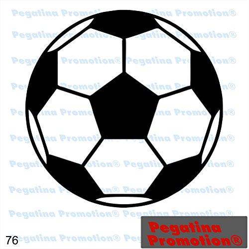 Piktogramm Typ 76 Icon Symbol Zeichen Fußball WM EM Bundesliega Sportplatz Stadion Aufkleber ca.15cm von Pegatina Promotion® Aufkleber mit Verklebehilfe von Pegatina Promotion® ohne Hintergrund geplottet