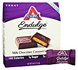 Endulge Milk Chocolate Caramel Squares 1 Box