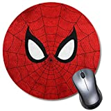 Round Gaming Mouse Pad Sup Spider, Computer...