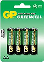 GP Extra Heavy Duty GreenCell Battery AA 4pk