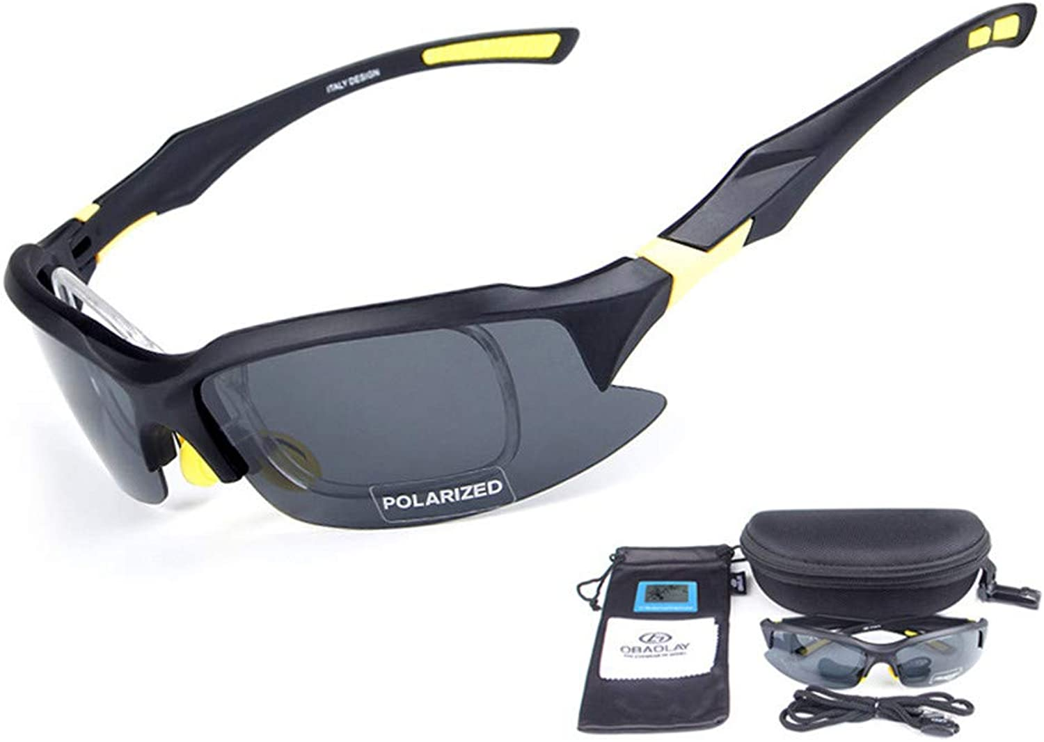 Cycling Glasses Myopia Sports Glasses Drive Cycling Goggles Monolithic Cycling Polarized Sunglasses Sports Sunglasses