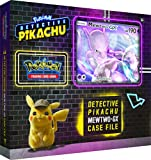 Pokemon TCG: Detective Pikachu Mewtwo-Gx Case File | 6 Booster Pack | A Foil Promo Gx Card | A Oversize Gx Foil Card