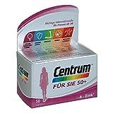 Centrum Für Sie 50+ – Hochwertiges Nahrungsergänzungsmittel mit Mikronährstoffen – Speziell für Frauen