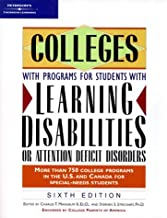 Colleges With Programs for Students With Learning Disabilities Or Attention Deficit Disorders