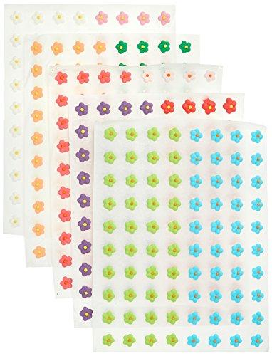 Cake Company Zuckerblumen bunt 1 cm  400 Stück 1er Pack (1 x 113 g)