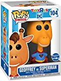 Pop Ad Icons DC Comics 3.75 Inch Action Figure Toys R Us Exclusive - Geoffrey as Superman #104