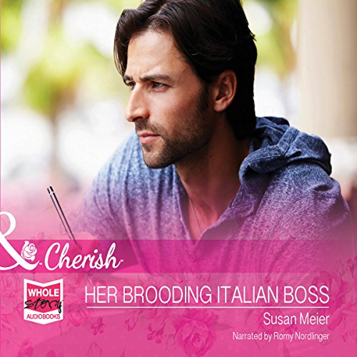 Her Brooding Italian Boss audiobook cover art