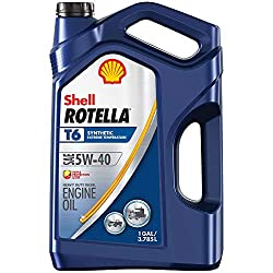 Shell Rotella 550045347 Synthetic Motor Oil