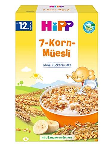 HiPP Bio 7-Korn-Müesli, 6er Pack (6 x 200 g)