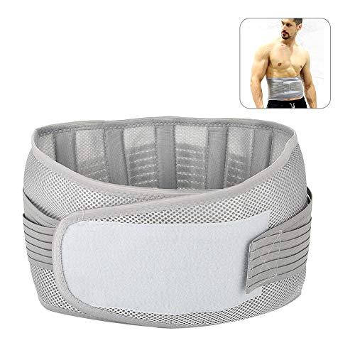 Brrnoo Lendenwirbelstütze für den Unteren Rücken, Linderung bei Rückenschmerzen, Doppelte Passform, elastischer Gürtel für Männer und Damen (01)