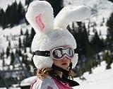 Headztrong Couvre Casque de Ski Lapin des Neiges. Les Plus Grandes Oreilles Que Vous Allez Voir sur Les Pistes!