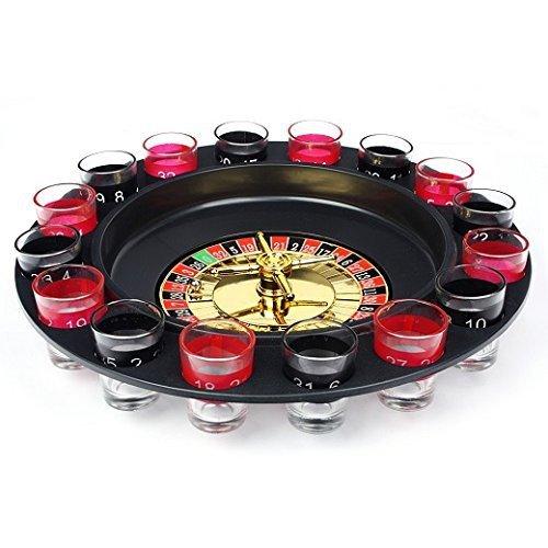 Schramm® Trinkspiel Roulette inkl. Geschenkverpackung Party Spiel Saufspiel für Erwachsene - 2