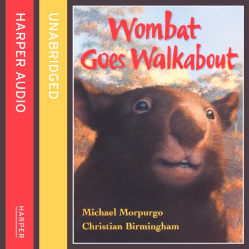 Wombat Goes Walkabout cover art
