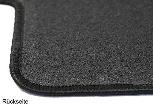 AD Tuning GmbH HG12021 Velours Passform Fu/ßmatten Set Schwarz Autoteppiche Teppiche Carpet Floor mats