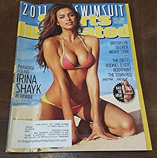 2011 SPORT ILLUSTRATED SWIMSUIT ISSUE Magazine IRINA SHAYK Cover