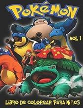 Best libro de colorear de pokemon Reviews