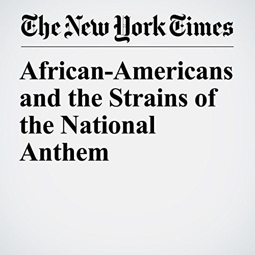 African-Americans and the Strains of the National Anthem copertina