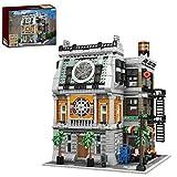 Mocdiy Bloques de construcción Sanctum con iluminación LED, construcción modular para casa, arquitectura DIY, 3588 piezas, bloques de sujeción, compatible con casa Lego, Mould King 16037