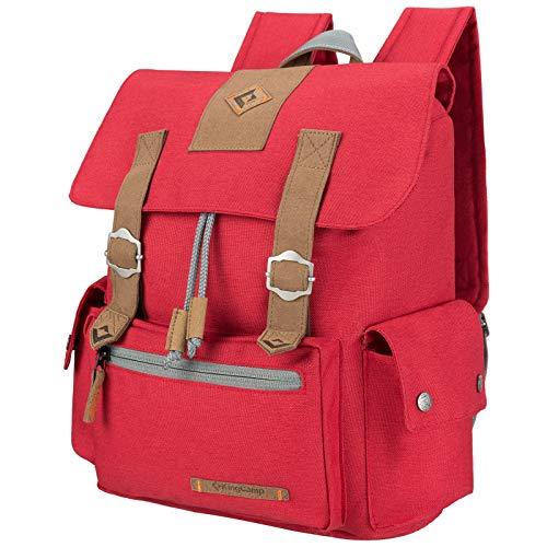 KingCamp Lässiger Rucksack für Damen und Herren, Reisen, wasserabweisend, reißfest, Outdoor
