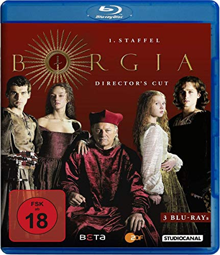 Borgia - Staffel 1 (Director's Cut) [Blu-ray]