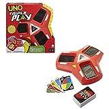 Mattel Games HCC21 - UNO Triple Play Kartenspiel, ab 7 Jahren