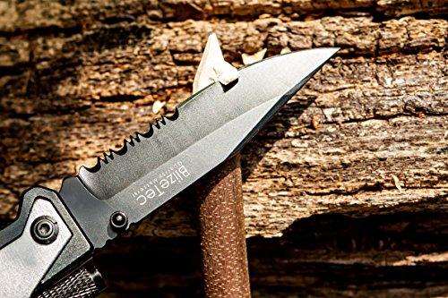 BlizeTec Tactical Survival Pocket Knife