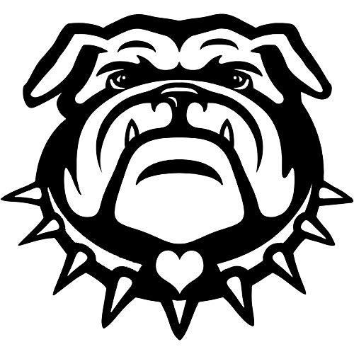 Best bulldog wall decal
