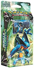 ✅UNLEASH A BLAST OF WATER POWER – Swampert is extremely strong. It has enough power to easily drag a boulder weighing more than a ton. Unleash the Ground/Water fury of this Mud Fish Pokemon! ✅BATTLE YOUR FRIENDS...AND WIN! The Hydro Fury Theme Deck f...