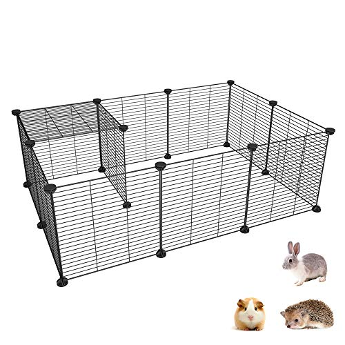 SIMPDIY recinto de Metal para Mascotas,...