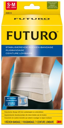 FUTURO FUT46815 Classic Rücken-Orthese, Größe S/M, Maße: 74,0 – 99,0 cm