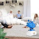 InLoveArts 5L Spruzzatore ULV Elettrico Macchina,1200w la disinfezione della Macchina del nebulizzatore Portatile di Grande capacità Spruzzatore Intelligente del nebulizzatore interniesterni